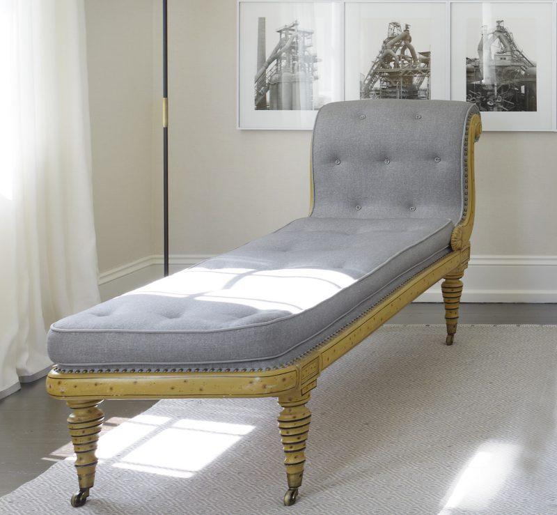Wynne GB chaise detail