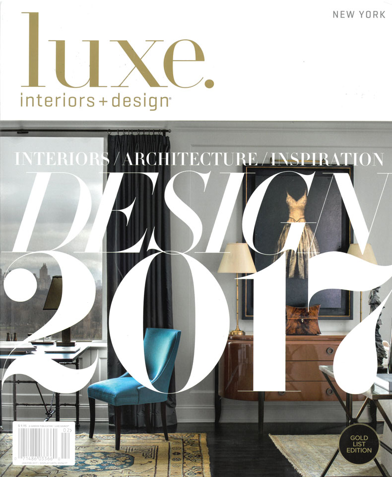Jayne Design Studio Luxe Interiors Includes On Its 2017 Gold List